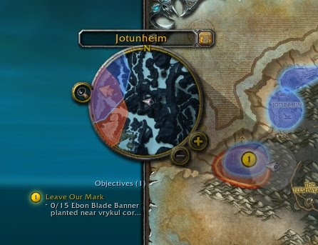 Quest POIs and archaeology dig sites from the world map shown on the minimap.