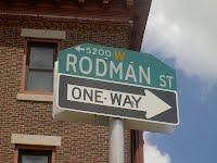 rodman street, philadelphia, pa, usa mercy hospital near WPEB Studios on South 52nd Street photo credit Joshua Nagel 2010