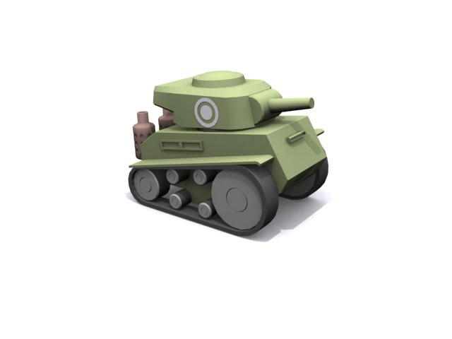 Cartoon Tank - 3DTotal Forums