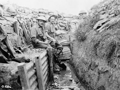 Image result for trench warfare ww1