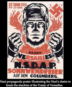 adolf hitler and the treaty of As fuhrer, hitler began building his third reich ignoring the terms of the treaty of versailles he began building up the army and weapons the nuremburg laws passed in 1935 defined hitler's ideal pure aryan german citizen and barred jews from holding any form of public office in march 1936 hitler began reclaiming.