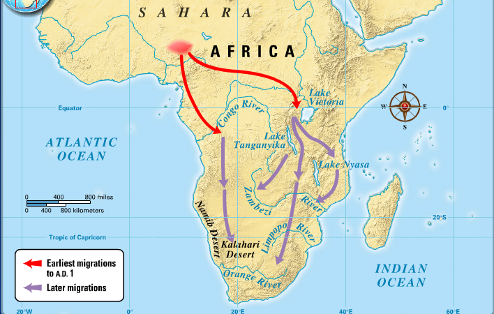 Image result for the bantu migration