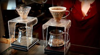 V60 brewed coffee
