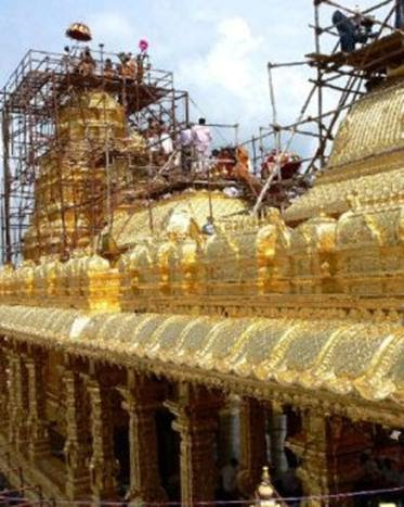 golden temple vellore. Golden Temple Near Vellore