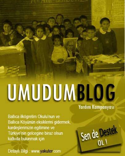 Umudum Blog Yardım Kampanyası