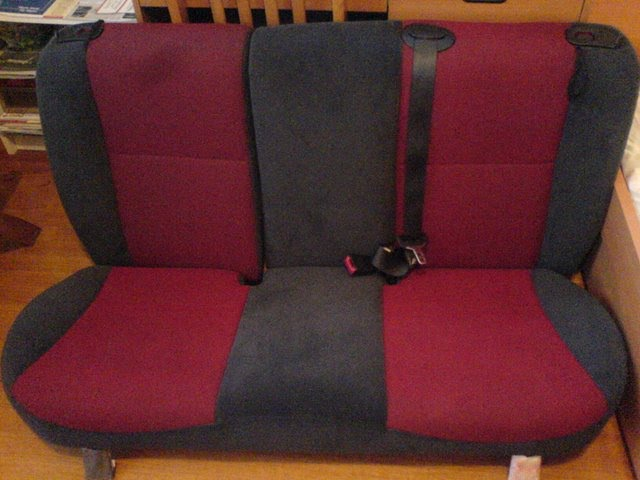 Painted my rear seats - Ford Focus Forum, Ford Focus ST Forum, Ford