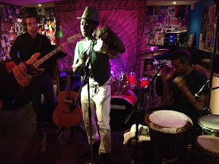 Amadou Diagne at Ye Olde Farmhouse