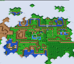 Intro zeldaparallelworlds the overworld map gumiabroncs Images