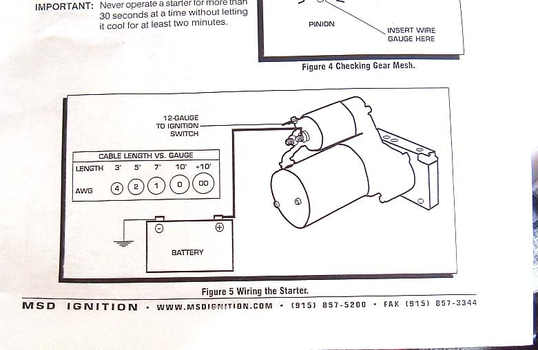 msd_starter_wiring_diagram starter wiring is msd's wiring diagram correct? ls1tech Chevy Ignition Switch Wiring Diagram at edmiracle.co