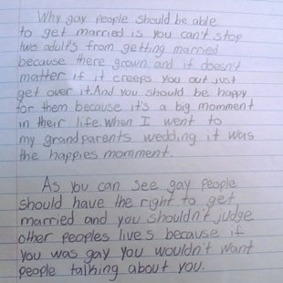 th graders essay goes viral zika virus  this 4th graders pro gay marriage letter has gone viral and it is awesome seriously if you haven t seen it yet you need to it here