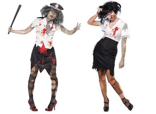 Zombie Costume Along with Zombie Make,up Ideas , Zombie