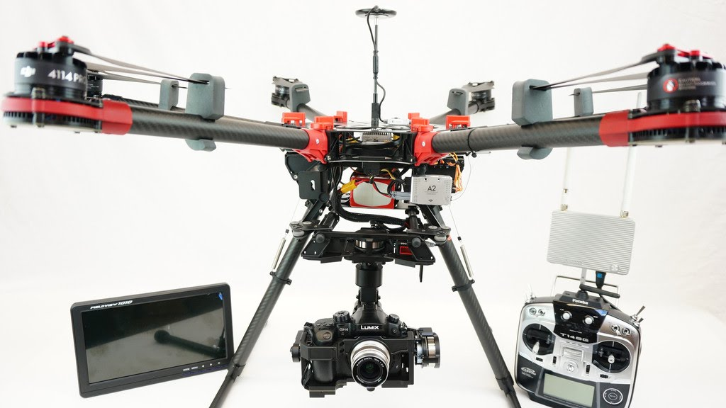DJI S1000+ hexacopter photo pro